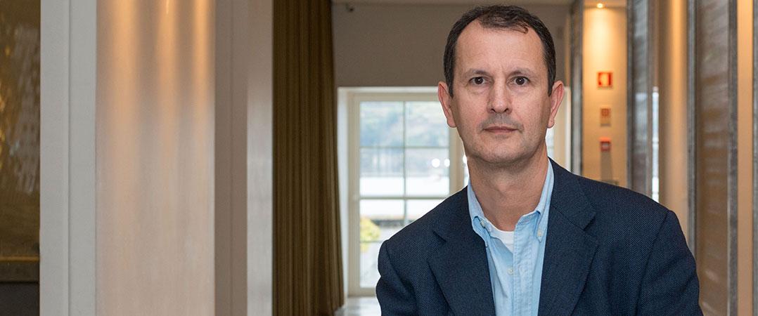 António Lucena de Faria, fundador e presidente da Fábrica de Startups