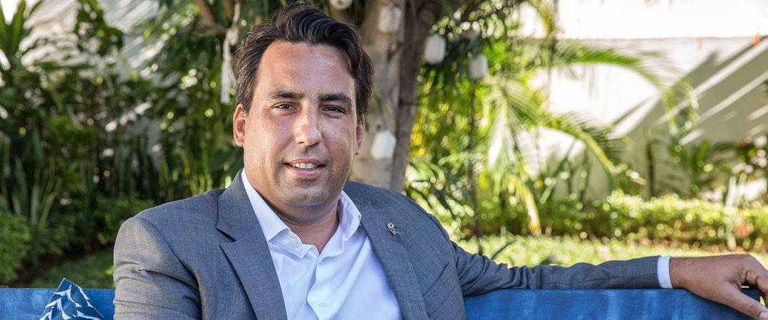 Nelson Teodoro, diretor-geral da Novabase Moçambique