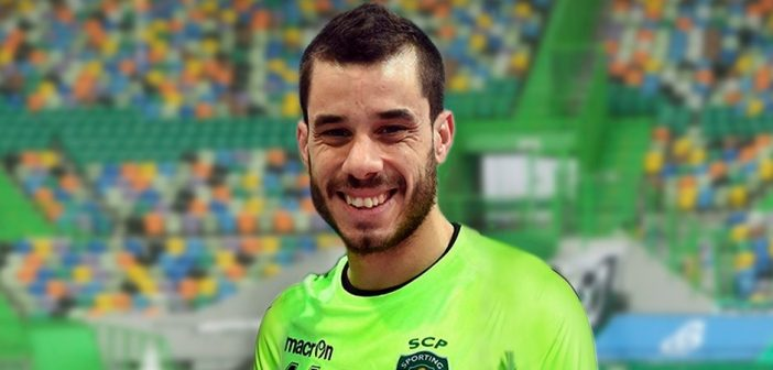 André Sousa, guarda-redes de futsal do Sporting