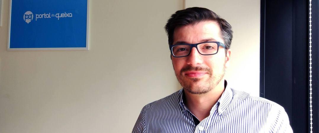 Pedro Lourenço, CEO e fundador do Portal da Queixa
