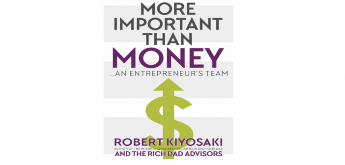 A Ler: More Important Than Money: an Entrepreneur's Team
