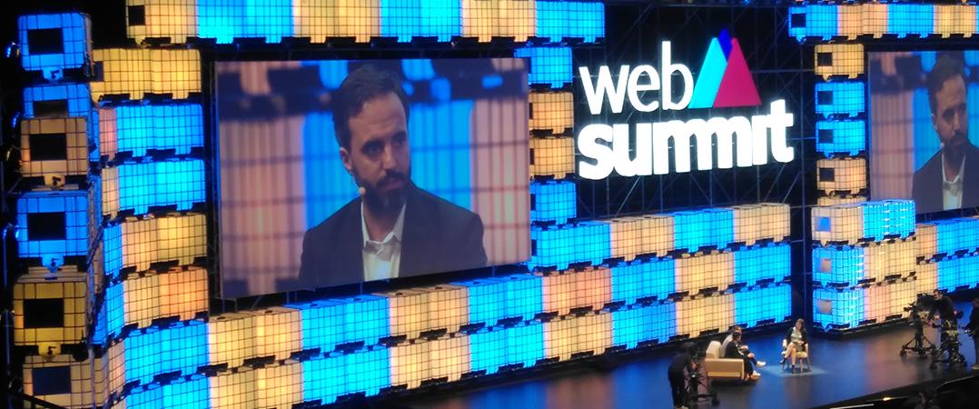 Robots, investidores, líderes solitários e o terceiro dia da Web Summit