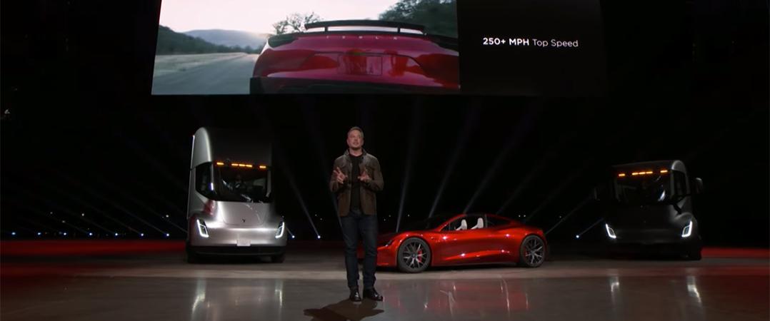 """Tesla revela camião e """"carro mais rápido do mundo"""""""