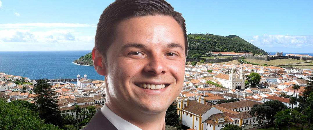 Guido Teles, vereador da Câmara Municipal de Angra do Heroísmo - Açores