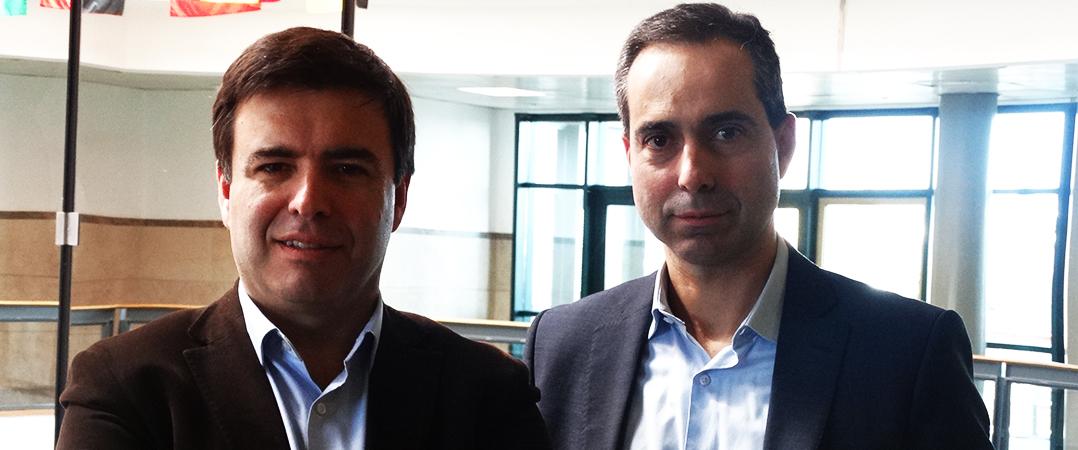 Pedro Oliveira e Filipe Santos, coordenadores do PAEGI Católica