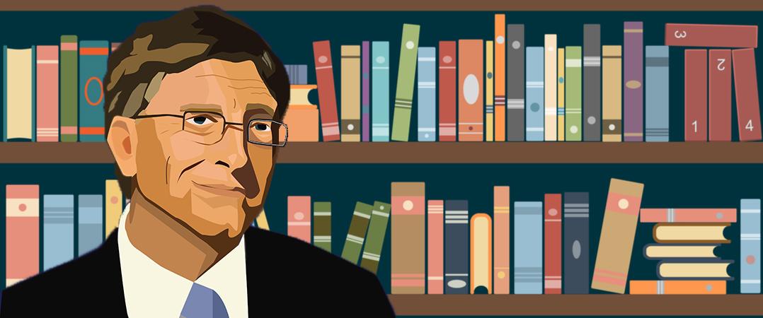 5 livros a ler este verão, segundo Bill Gates