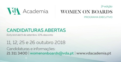 2.ª edição do Programa Executivo Women on Boards
