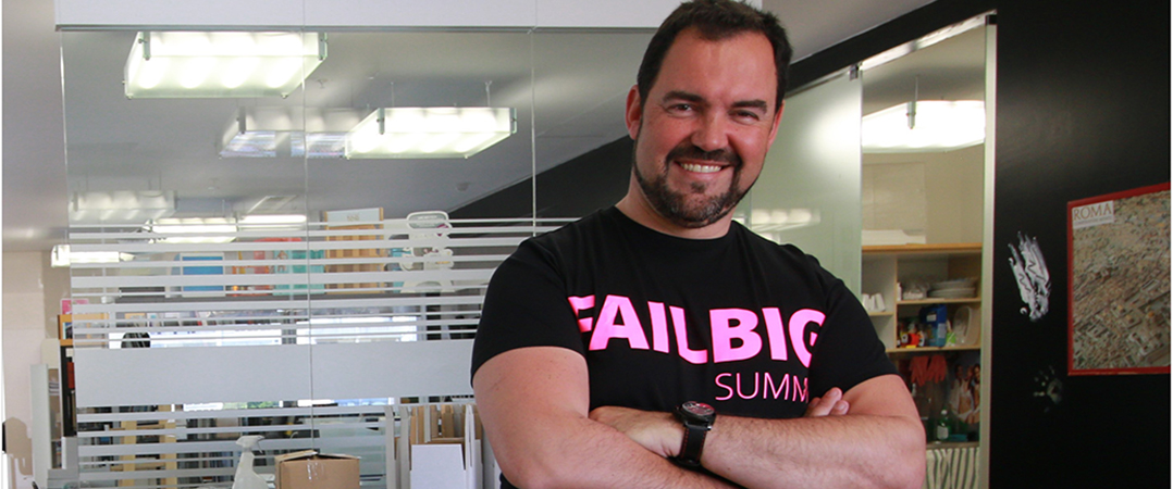 Rui Miguel Coelho, fundador e diretor global do Failbig Summit Worldwide