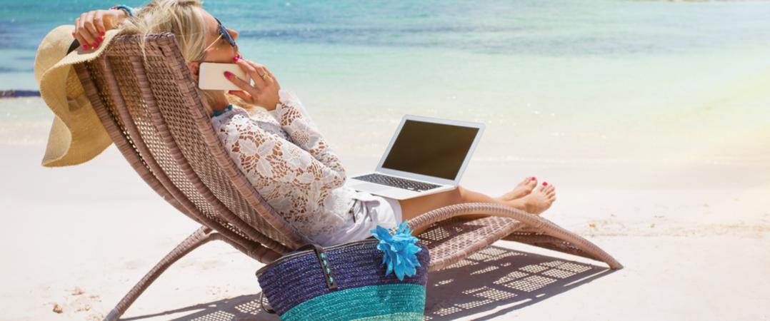 Como encontrar tempo na sua agenda agitada para tirar férias