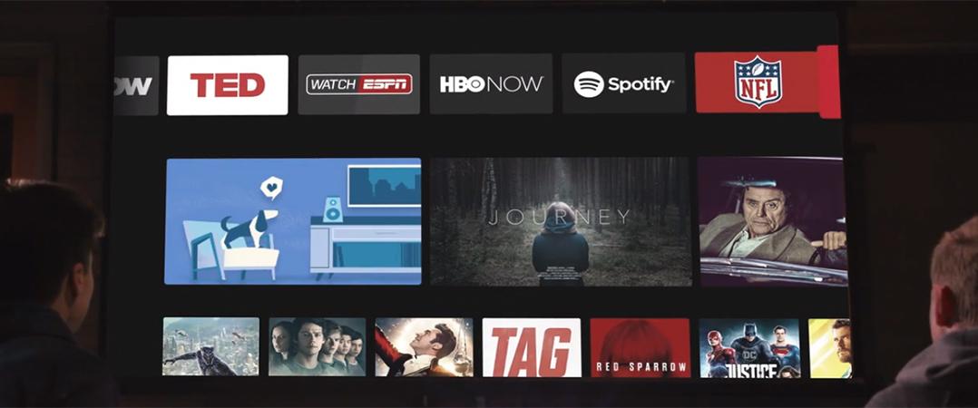 Crowdfunding do mês uma televisão de 100 polegadas que cabe no bolso