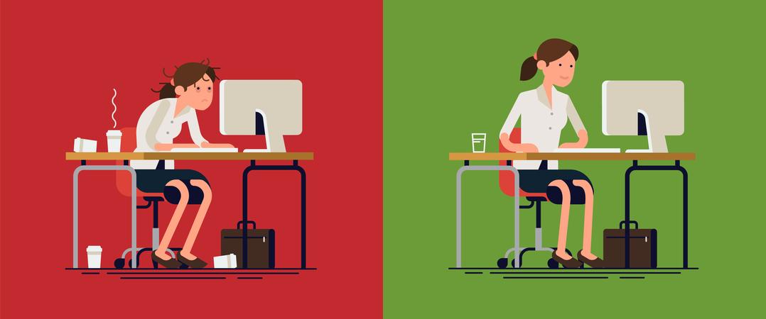 Trabalhar menos para aumentar a produtividade