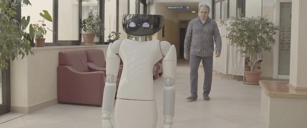 Konica Minolta desenvolve estudo sobre robots e inteligência artificial na saúde