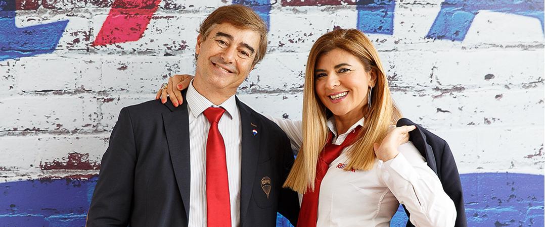 Manuel Alvarez e Beatriz Rubio