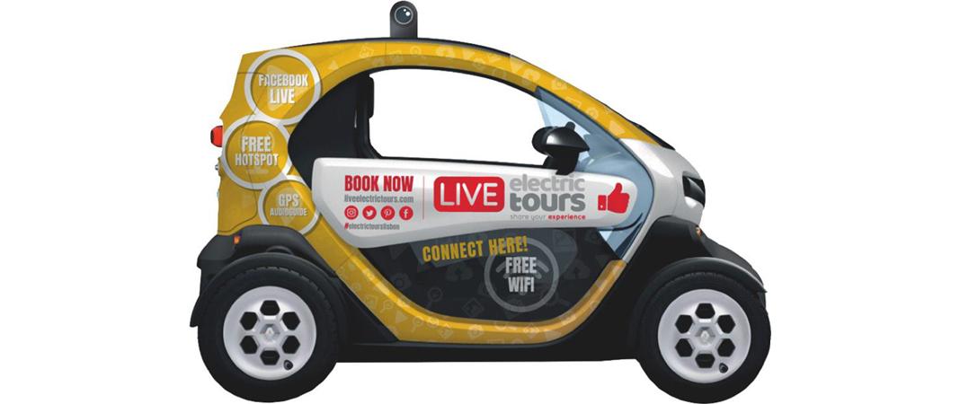 Live Electric Tours alarga operações ao Porto