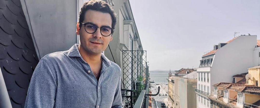 Sebastião Queiroz e Mello, fundador da Lisbon Tech Guide