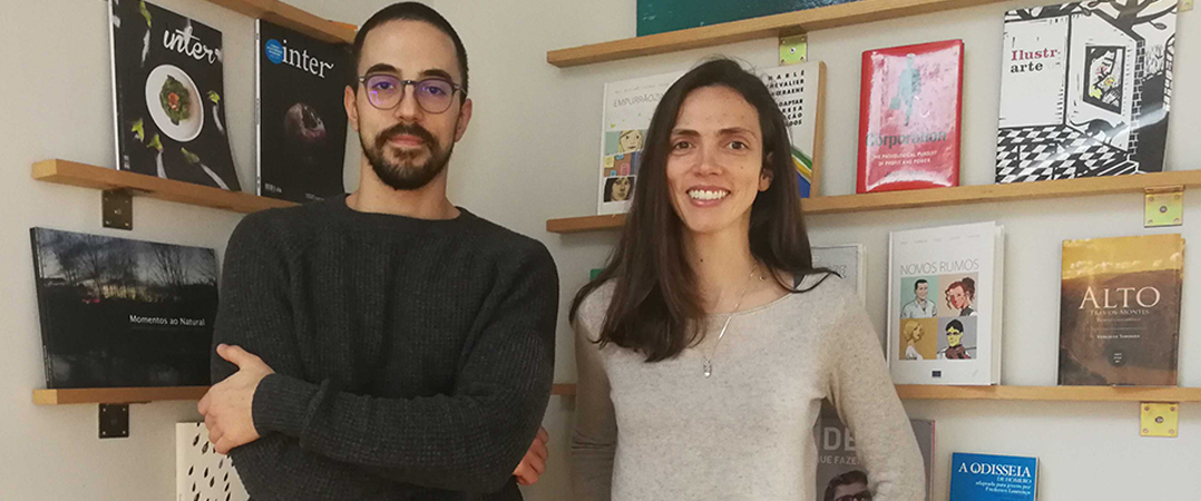 João Ferreira e Rita Ribeiro da Silva, fundadores da Skoach