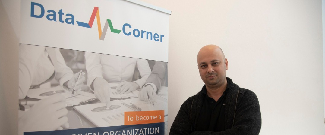 Ali Rohani fundador da Data Corner