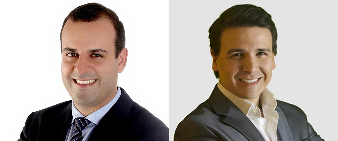 Ricardo Perdigão Henriques, CEO do investidor europeu especializado no setor da saúde, e Nuno Prego Ramos, CEO da biotech portuguesa