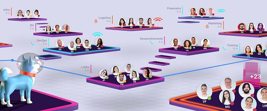 Invillia lança plataforma de digital para recriar locais de trabalho