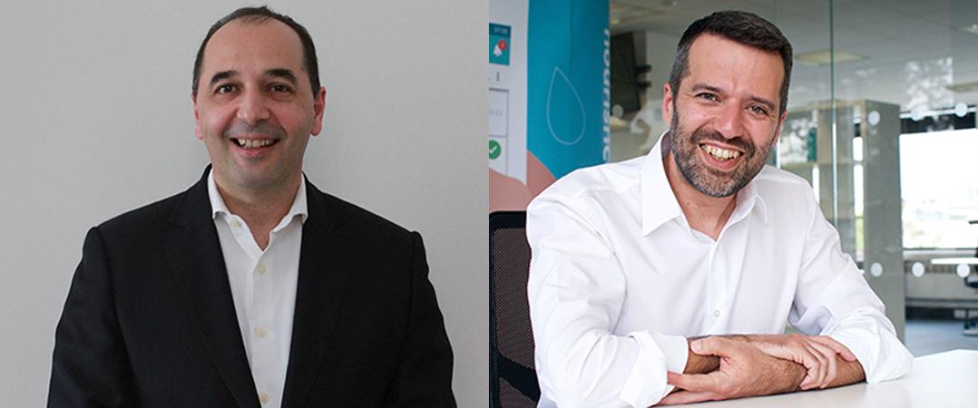 Diamantino Costa, cofundador da Ganexa Capital, e Nuno Almeida, CEO da Nourish Care