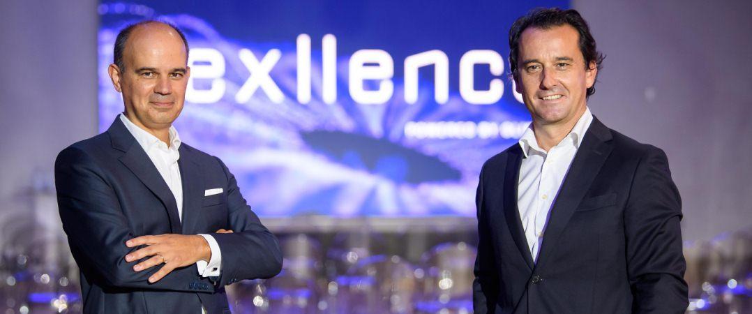 Nuno Vasco Lopes, CEO da Glintt, e David Faustino, Managing Director Nexllence da Glintt