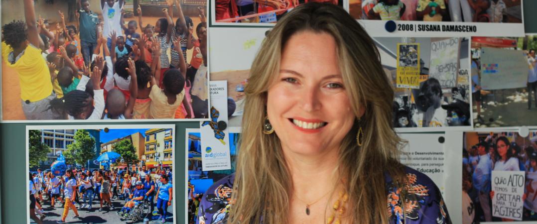 Susana Damasceno, presidente da direção da AIDGLOBAL