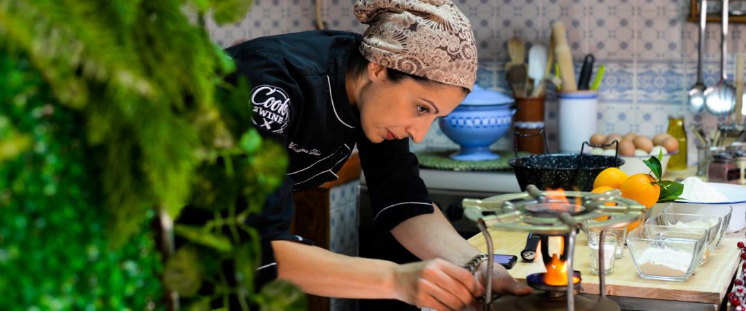 Madalena Dias, fundadora da Cook2Wine