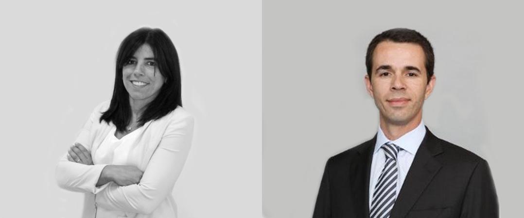 Inês Lopo de Carvalho e António Brum