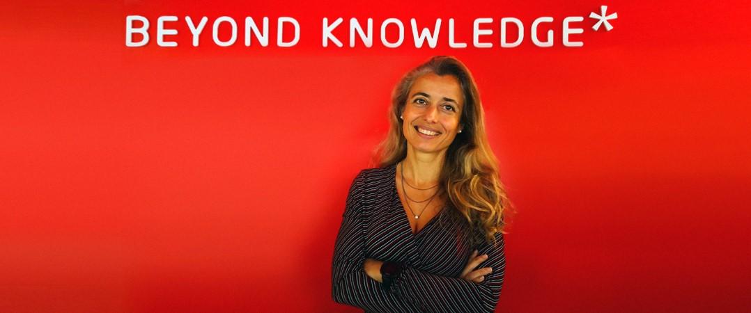 Patrícia Santos, manager of the Corporate Offers & Digital Studio na CEGOS