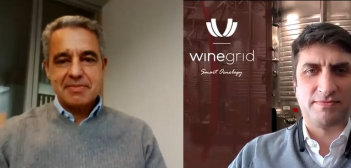 Pedro Cruz, business angel e CEO da Gallo Worldwide, e Rogério Nogueira, CEO da Winegrid