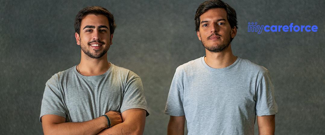 Pedro Cruz Morais (CEO) e João Hugo Silva (COO)
