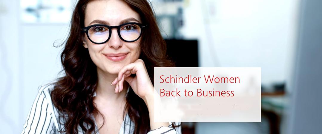 Schindler Iberia apoia talento feminino e promove regresso ao trabalho