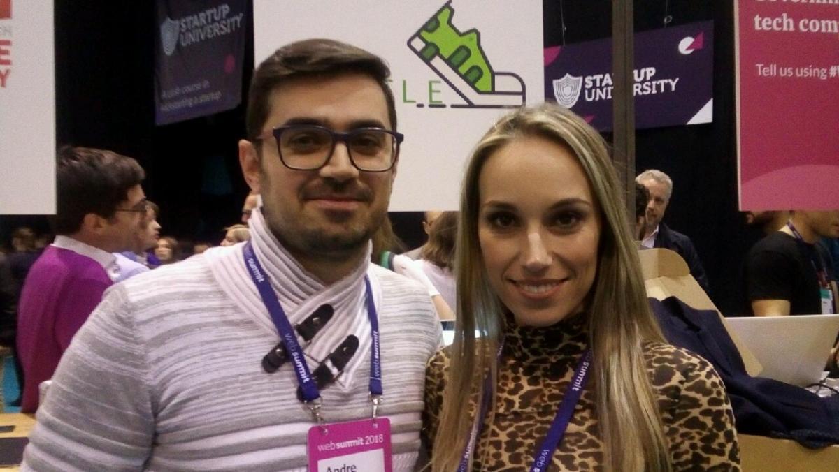 André Facote e Andreia Coutinho, fundadores do Ircycle
